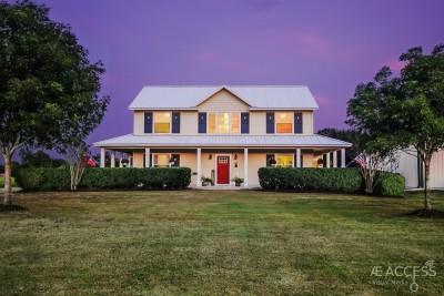 houston twilight real estate photos